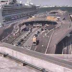 【GWのお出かけ⑤】横浜港大さん橋 国際客船ターミナル 客船入港予定